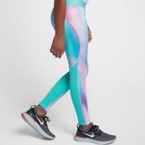 Nike Pro Tie Dye Style Dri-Fit Leggings Size (L)